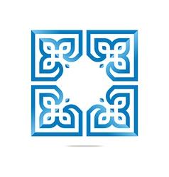 Logo Design Element Company Letter Symbol Plant vector image vector image