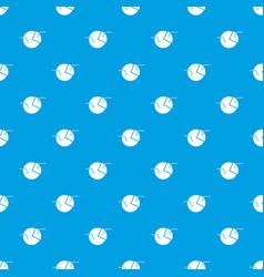 percentage diagram pattern seamless blue vector image