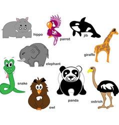 Wildlife Animals vector image vector image