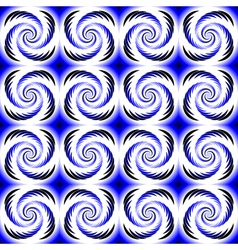 Design seamless colorful helix motion pattern vector image