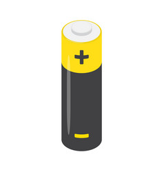 aa alkaline battery isolated on a white background vector image