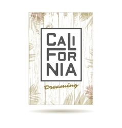 california vector image