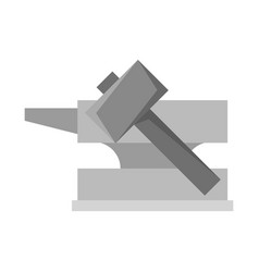 Hammer and hephaestus vector