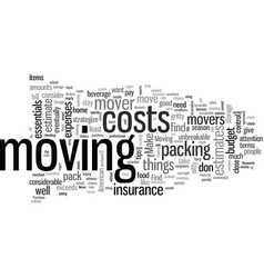 how to make a claim against your mover vector image