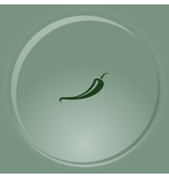 Jalapeno peppers symbol vector image
