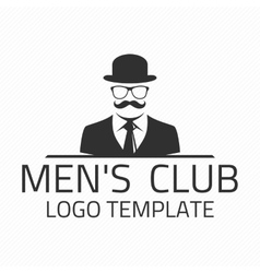 Men club logo vector