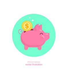 Piggy vector
