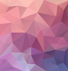 Pink purple abstract polygon triangular pattern vector