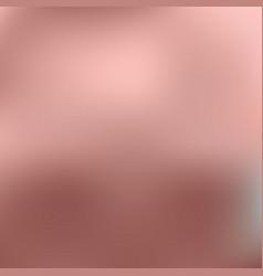 rose gold foil gradient background vector image
