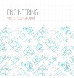 Poster cover banner background of blue vector image vector image