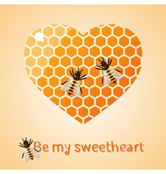Sweetheart vector image