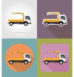 transport flat icons 28 vector image vector image