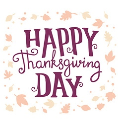 Thanksgiving with text happy thanksgiving da vector