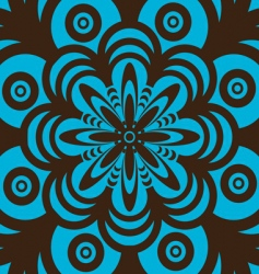 retro wallpaper design vector image vector image