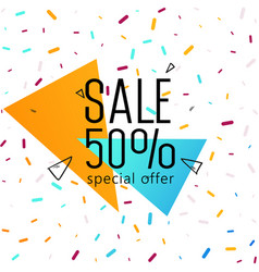 big sale weekend special offer banner vector image