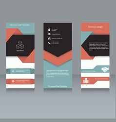 Brochure design template brochure design template vector