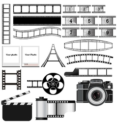 celluloid vector image