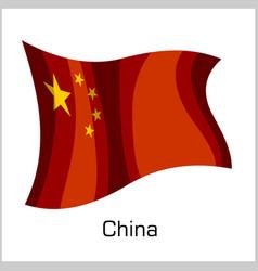 Chinese flag flag china vector