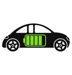 Electric Car Icon vector