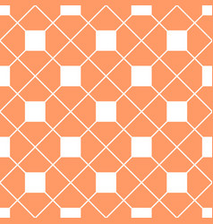 Tile orange pattern vector