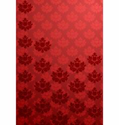 vertical red glamour pattern vector image