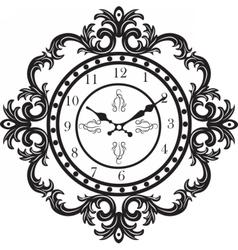 Vintage Classic clock vector