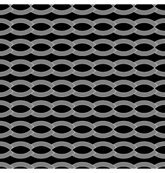 Wave geometric seamless pattern 110 vector image