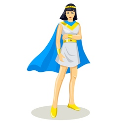 Egyptian Princess vector image