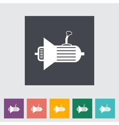 Icon gear vector image vector image