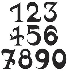 Fundamental number set2 vector
