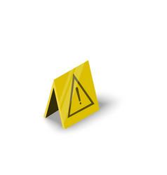wet floor icon isometric style vector image