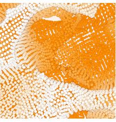 Array paper cut circles vector