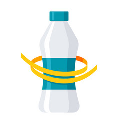 diet drink concept vector image
