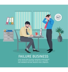 Failure Business Concept vector
