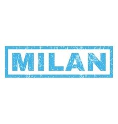 Milan Rubber Stamp vector