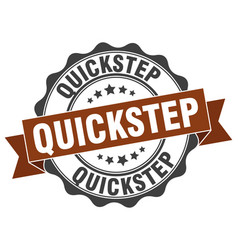 Quickstep stamp sign seal vector