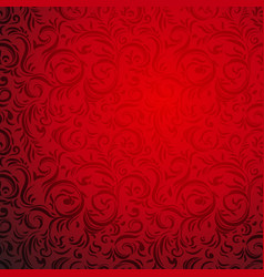 red bright background vector image