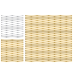 Set of Abstract Gold and Silver Texture vector