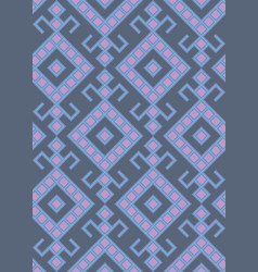 slavic pattern vector image