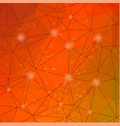 abstract red mosaic pattern vector image vector image