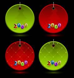 celebration labels vector image vector image