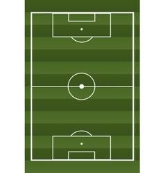 Soccer textured field vector