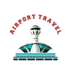 emblem Airport vector image vector image