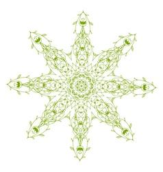 Arabesque ornament vector