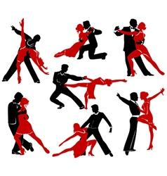 Ballroom Dancing - 4 vector