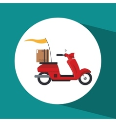Delivery logistics design vector
