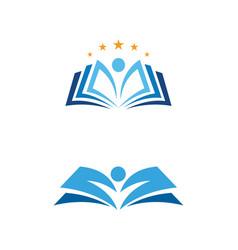 Education book icon template vector