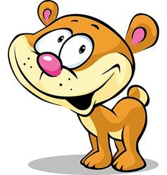 Funny cute bear vector