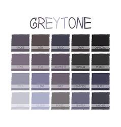 Greytone Color Tone vector image