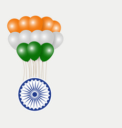 Happy india republic day vector
